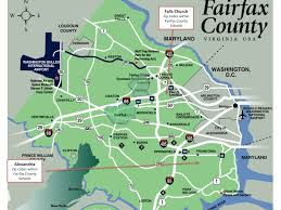 fairfax county map fairfax county schools in northern virginia town
