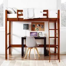 your zone twin wood loft bed multiple colors walmart com