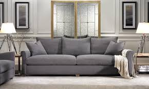 leo linen blend sofa in grey haynes furniture virginia u0027s