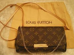 Louis Vuitton Si Geanta Louis Vuitton Favorite Pm Monogram Piele Naturala Si Canvas