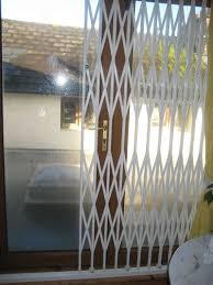 Patio Door Security Shutters Sliding Glass Door Security Grilles Security Door Ideas