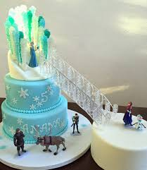 Cake Talk Frozen Ice Castle Cake