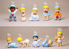 original usa mini baby doll model ornaments baby in my pocket pvc