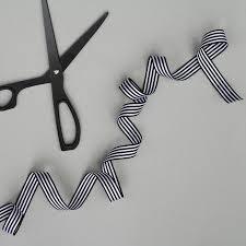 white silk ribbon black and white striped ribbon by nancy betty studio