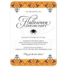 Halloween Invitation Card Halloween Invitation Examples U2013 Festival Collections
