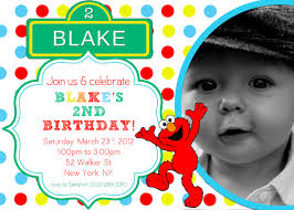 elmo birthday invitations template birthday invitations