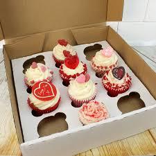 box cuisine patisserie 12 cavity corrugated cup cake muffin box with insert