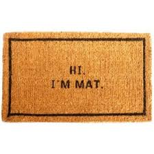Wipe Your Paws Coir Coco Funny Doormats Home Entrance Mats Residential Canada Mats