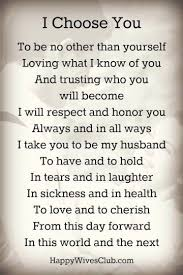 marriage quotes for him wedding vows exles for and for him