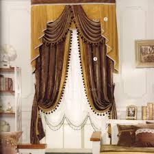 Schlafzimmer Vintage Braun Traditionell Viktorianisch Jahrgang Chenille Braun Gold