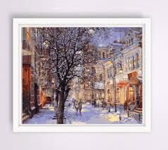 Wall Scenes by Painting Street Scenes Reviews Online Shopping Painting Street