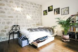 215 Square Feet Cozy 215 Square Foot Studio Flat In Paris Idesignarch Interior
