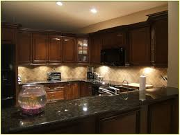 granite countertop kitchen cabinets without handles craftsman
