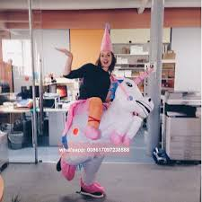 inflable unicornio disfraces carnaval traje de princesa traje del