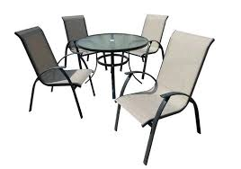 Patio Table Glass Top Patio Furniture Round Glass Table Outdoor Furniture Glass Table