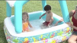 Intex Inflatable Swimming Pool Intex Sun U0026 Shade Inflatable Kids Swimming Pool With Canopy