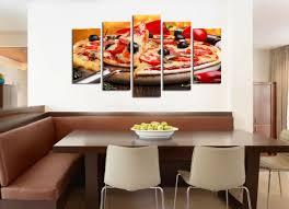 Pizza Restaurant Interior Design Ideas Decorations For Restaurants Wall Art Decoration Set Of 5 Pieces