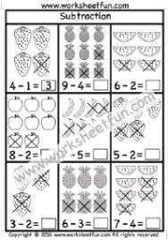 subtraction free printable worksheets u2013 worksheetfun