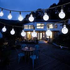 solar powered outdoor string lights 2018 wholesale 6m 30 leds solar powered led outdoor string lights 6m