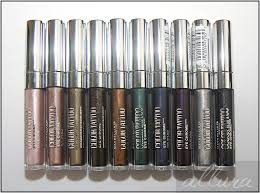 maybelline color tattoo eye chromes review photos swatches allura