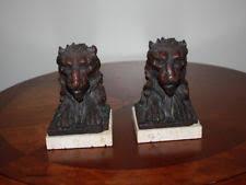 lion book ends lion bookends ebay