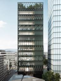 Metal Office Buildings Floor Plans by Mecanoo Plans Namdeamun Office Building In South Korea