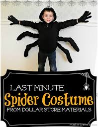 last minute spider costume all you need is a black hoodie for