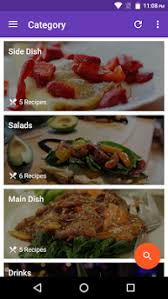 recipe apk material recipe apk version app for android devices