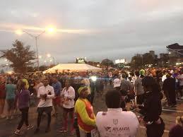 atlanta thanksgiving day half marathon funner runner