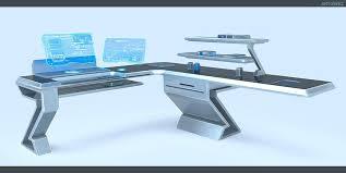Futuristic Computer Desk Futuristic Desks Enchantinglyemily