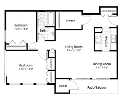 album 1 gallery 5 floor plans lake shore apartments