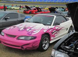 a pink mustang mustang monday belinda bailey s pink and purple gt stangtv