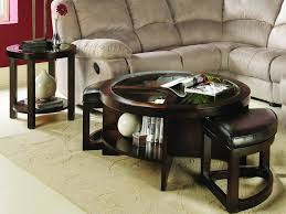 Large Chair And Ottoman Design Ideas Ottomans Round Ottoman Tray Large Round Serving Tray For Ottoman