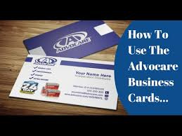advocare business card template best business cards
