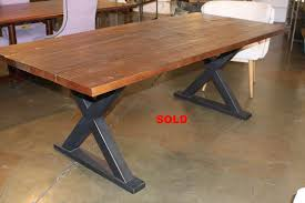 Dining Room Table Reclaimed Wood Dining Table Luxury Metal Dining Room Table Bases Reclaimed Wood