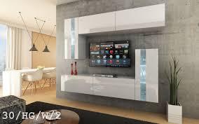 Wohnzimmerschrank Beleuchtung Future 30 Wohnwand Anbauwand Wand Schrank Möbel Wohnzimmerschrank