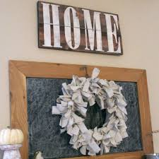 distressed home farmhouse sign country rustic cabin wood