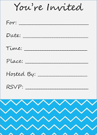 blank invitations blank invitation printable digiclick co