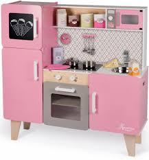 kinderk che holz rosa janod spielküche mit funktion kaufen otto
