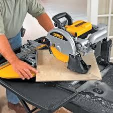 sliding table tile saw lease to own dewalt 10 in 1 5 wet dry bridge sliding table tile saw