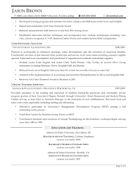 cover letter cook resume templates resume templates cook assistant