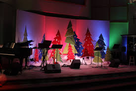 thanksgiving church decorations church christmas decoration ideas photograph church stage