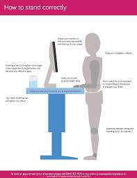 ergonomic workstation setup for tall workers posture people