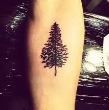 tree on the forearm by craigy