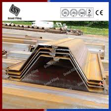 Steel Sheet Piling Cost Estimate by Steel Sheet Piling Z Section Sheet Piles China Rolled Sheet