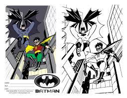 pages kids batman