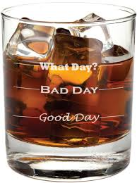 amazon black friday deals terrible amazon com good day bad day funny 11 oz rocks glass