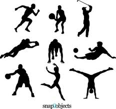 download 9 free sports vector silhouettes physical education