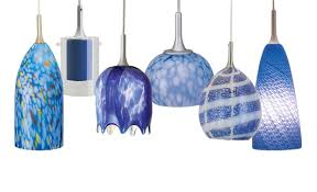 Blue Glass Pendant Light Blue Glass Pendant Light Aneilve
