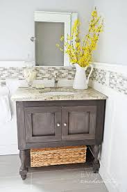 Modren How To Make A Bathroom Vanity Cabinet From Shanty  Chic - Bathroom vanity design plans